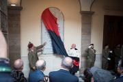 Cerimonia studenti universitari caduti nella prima Guerra mondiale
