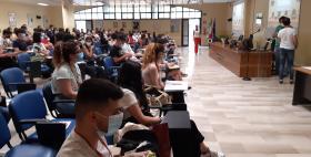 Avvio scuola estiva gratuita Unisstest 2021_aula Segni