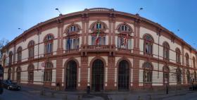 Il palazzo centrale dell'Università di Sassari in piazza Università