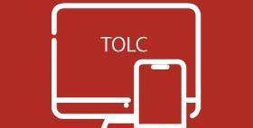 immagine stilizzata di computer e smartphone su sfondo rosso