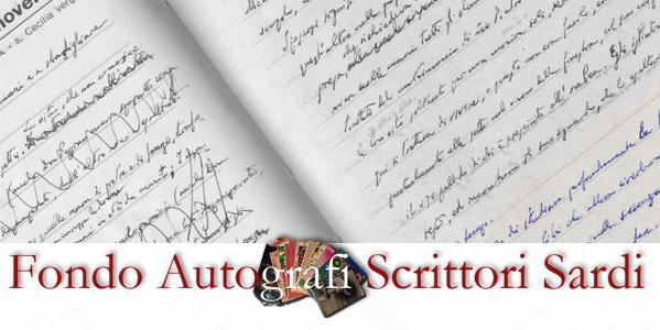 Fondo Autografi Scrittori Sardi