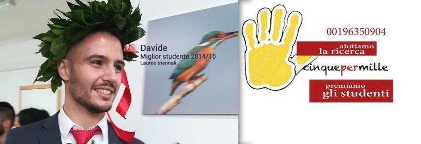 Davide, miglior studente 2014/2015
